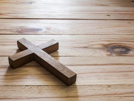 Cross over wood