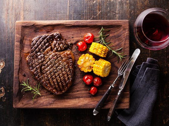If you are putting marbled steaks on the barby, there is Australian shiraz, or T-bones on the grill, there is California oak and wood cabs and zins.