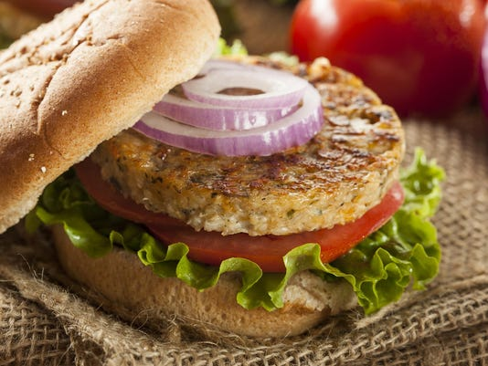 Organic Grilled Black Bean Burger