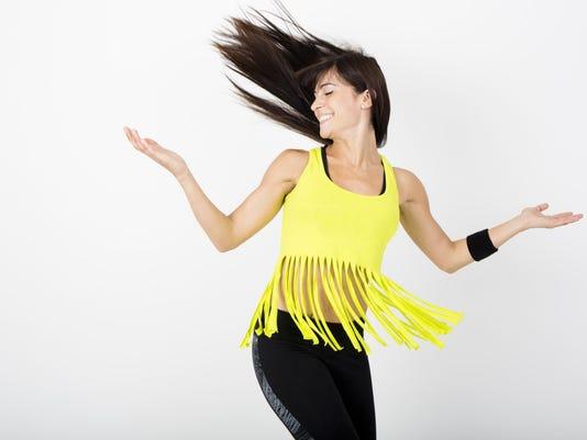 Fitness dance zumba