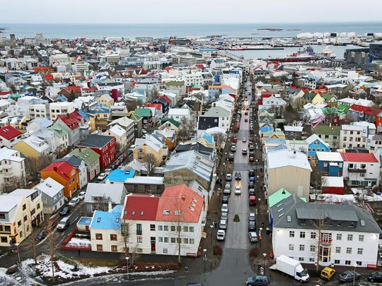 A view of Reykjavik, Iceland. International luxury travel network Virtuoso said the island country has become a popular destination.
