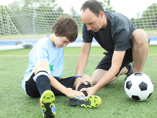 Father Son Football - Injury