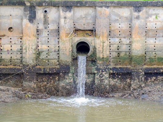 Storm Drain Outflow (stormwater, water, drainage)