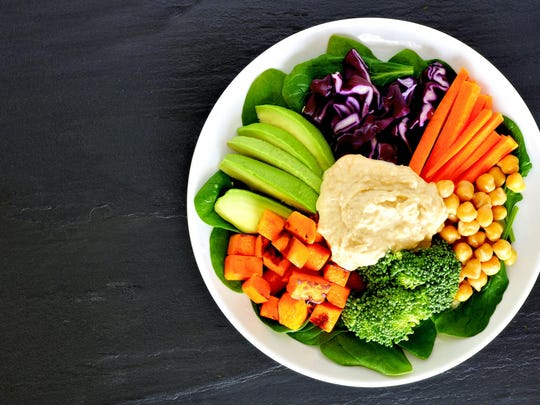 Superfoods bowl meal.