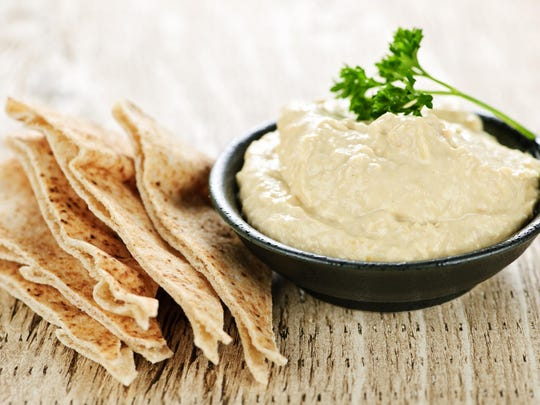 Hummus is easy to make.
