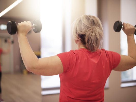 Working on shoulders in this age is important for women