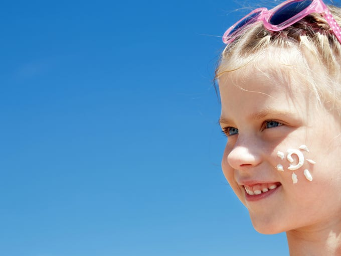 Afew bad burns in childhood can double a person's risk of melanoma.