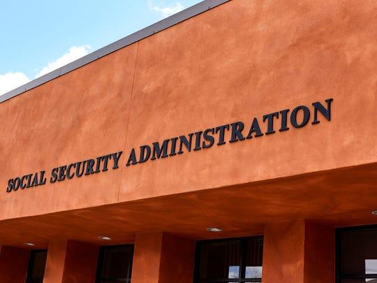The outside of a Social Security Administration office