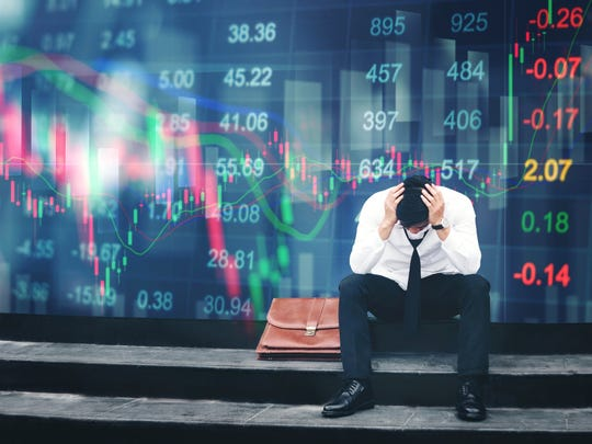 Don't let the stock market depress you.
