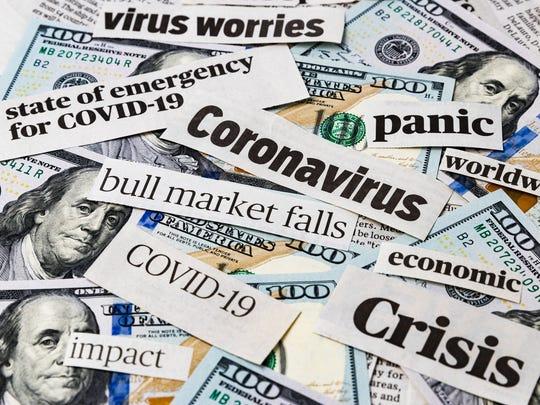 News headlines and money