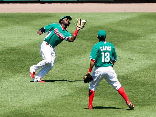 Rays Phillies Spring Baseball