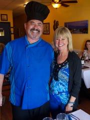 Christian and Mari Vivet own Blue Windows French Bistro