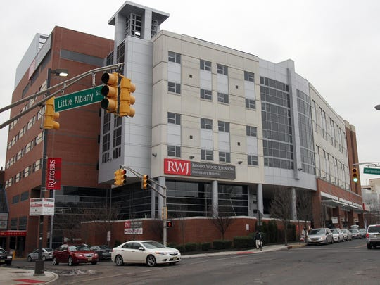 Robert Wood Johnson University Hospital in New Brunswick.