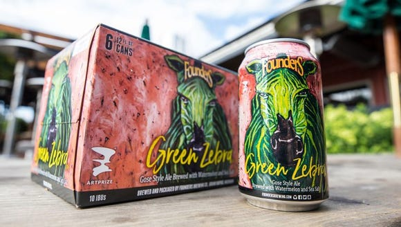 Green Zebra is out in 6-packs of cans today.