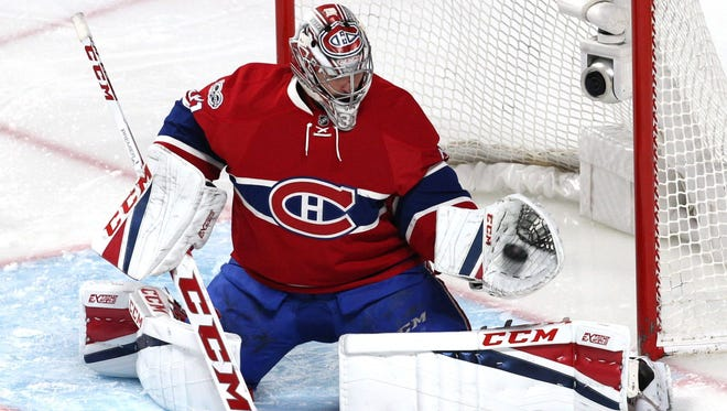 Montreal Canadiens goalie Carey Price could be in town until he is 38 years old.