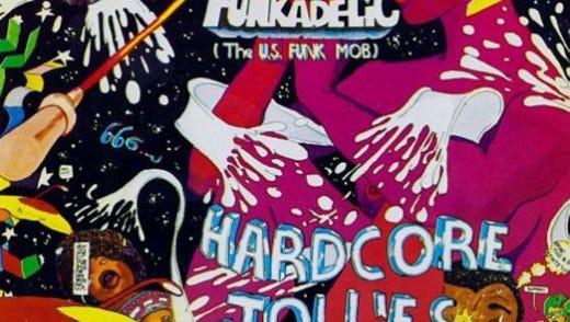 """Hardcore Jollies,"" studio album by Funkadelic."
