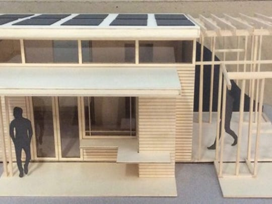 """Tiny Home Designs for the Homeless of Muncie,"" Muncie"