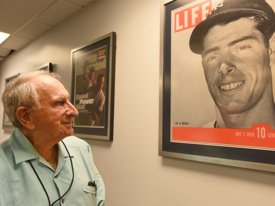 Newark-born Tom Giordano, at 92 years old, remains