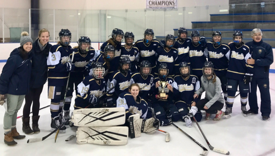 Rye Country Day won the Women's Interscholastic Hockey
