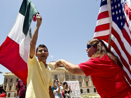 Arizona's Senate Bill 1070 was the most aggressive anti-migrant law in the nation when it  was signed in 2010. Over the next several years, key parts were struck down by the courts.