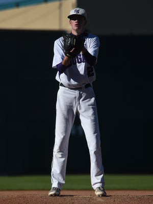 Spanish Springs pitcher Ryan Anderson takes the mound against Carson at Greater Nevada Field in Reno on Friday.