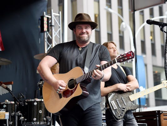 Lee Brice performs On Fox & Friends' All-American Summer Concert Series