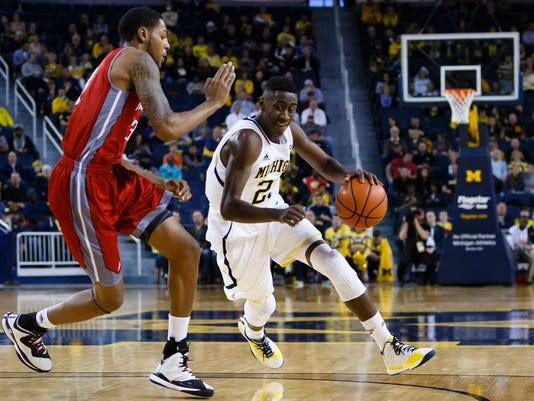 NCAA Basketball: Nicholls State at Michigan