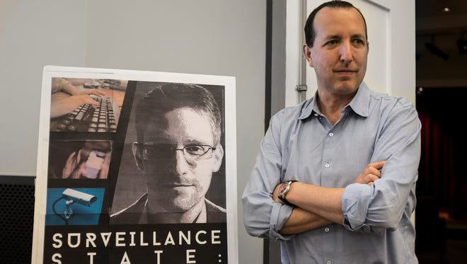 Ben Wizner  an attorney for NSA whistleblower Edward Snowden, spoke in Nashville on Saturday about the impact of government surveillance on free speech and democracy.