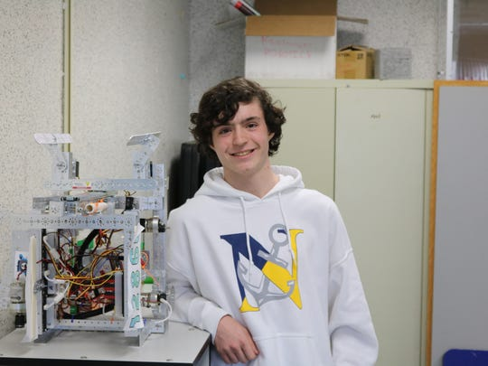 Zach Brown, a sophomore at Toms River High School North, is a member of the program's implementation and advisory team.