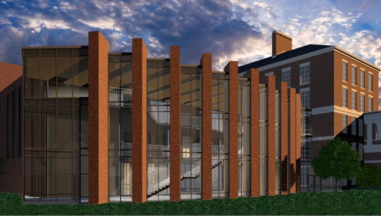 Parts of the technology conference are scheduled to take place in the university's new $12.8 million Ronald Rettner Hall for Media Arts and Innovation center.