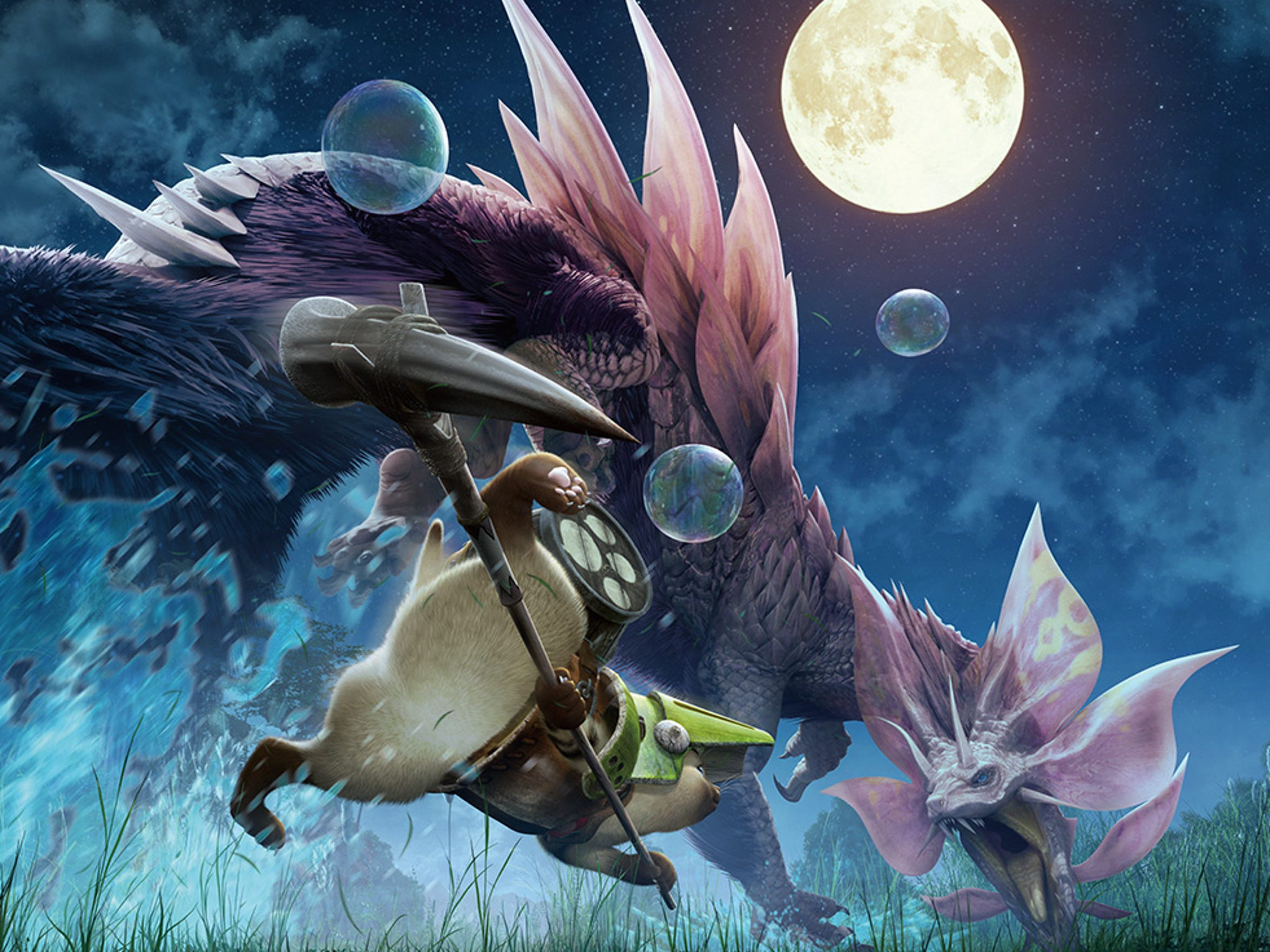 """You can do Prowler quests as a Palico in """"Monster Hunter"""