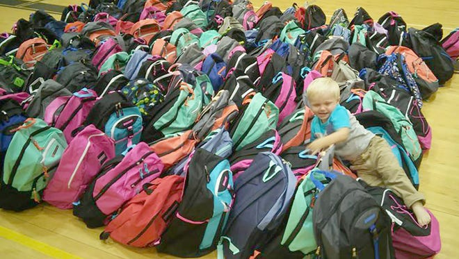 Westview United Methodist Church is distributing free backpacks to Williamson County students in grades K-12.
