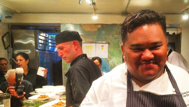 Chef Alex Boonphaya enjoys hosting offbeat events in his restaurants, such as social media nights or, say, knife fights.
