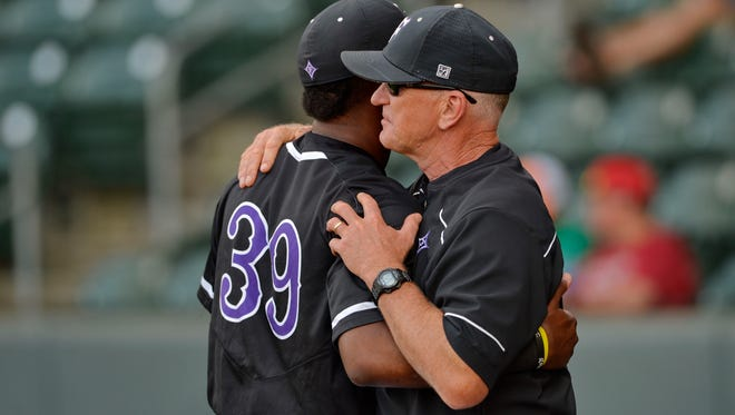Furman played UNCG in the SOCON baseball tournament Friday May 27, 2016 at Fluor Field.