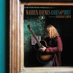 "This CD cover image released by Concord Records shows ""Ashes & Dust,"" the latest release by Warren Haynes."