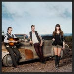 Brothers Tom Gossin, left, and Mike Gossin and Rachel Reinert make up country group Gloriana.