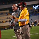 Chris Ash new head football coach at Rutgers Universary addresses the media