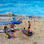 Artist's exhibition at Gallery 50 features Delaware beaches