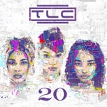 The album cover for TLC's '20,' out Oct. 15