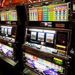 This is a 2014 file photo of slot machines have at Harrah's Tunica casino in Robinsonville, Miss.