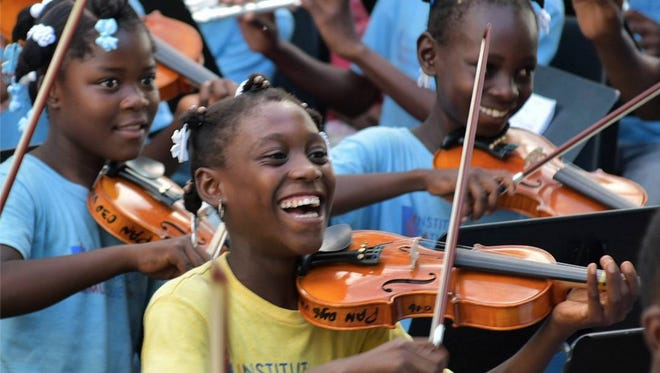 Haitian youth orchestra