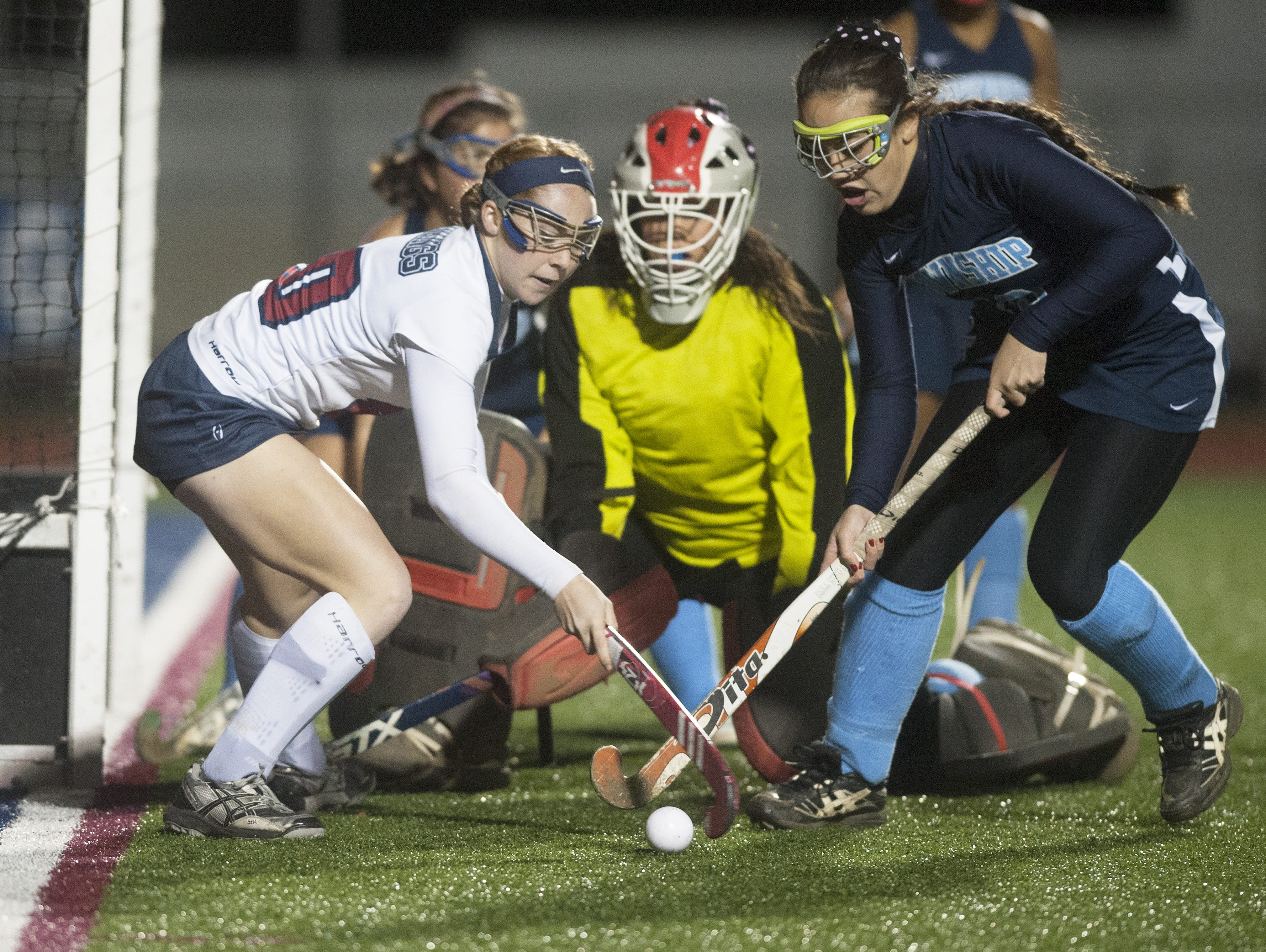 Eastern's Nikki Santore leads South Jersey in goals scores (40) and assists (27).
