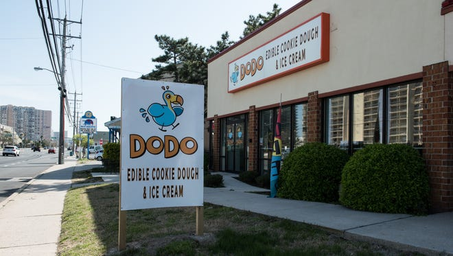 An exterior view of DoDo Cookie Dough in Ocean City on Saturday, April 14, 2018.