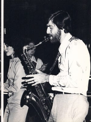 Barry Henshaw is shown performing with The Wave in the late '70s at the now-defunct York Valley Inn.