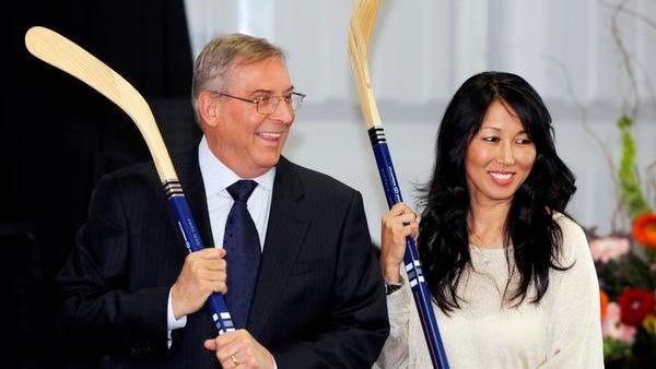 Buffalo Sabres owner Terry Pegula and his wife, Kim Pegula, recently bought the Buffalo Bills.