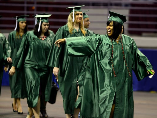 Pensacola State College Graduation 8