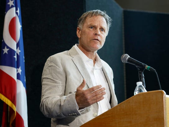 Fred Warmbier, father of Otto Warmbier, a University