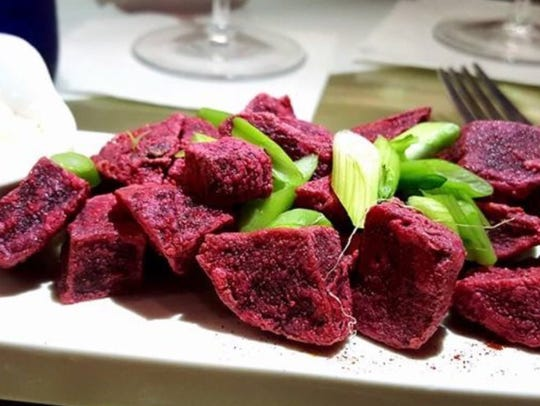 Roasted Beets are a signature side at Blanc.