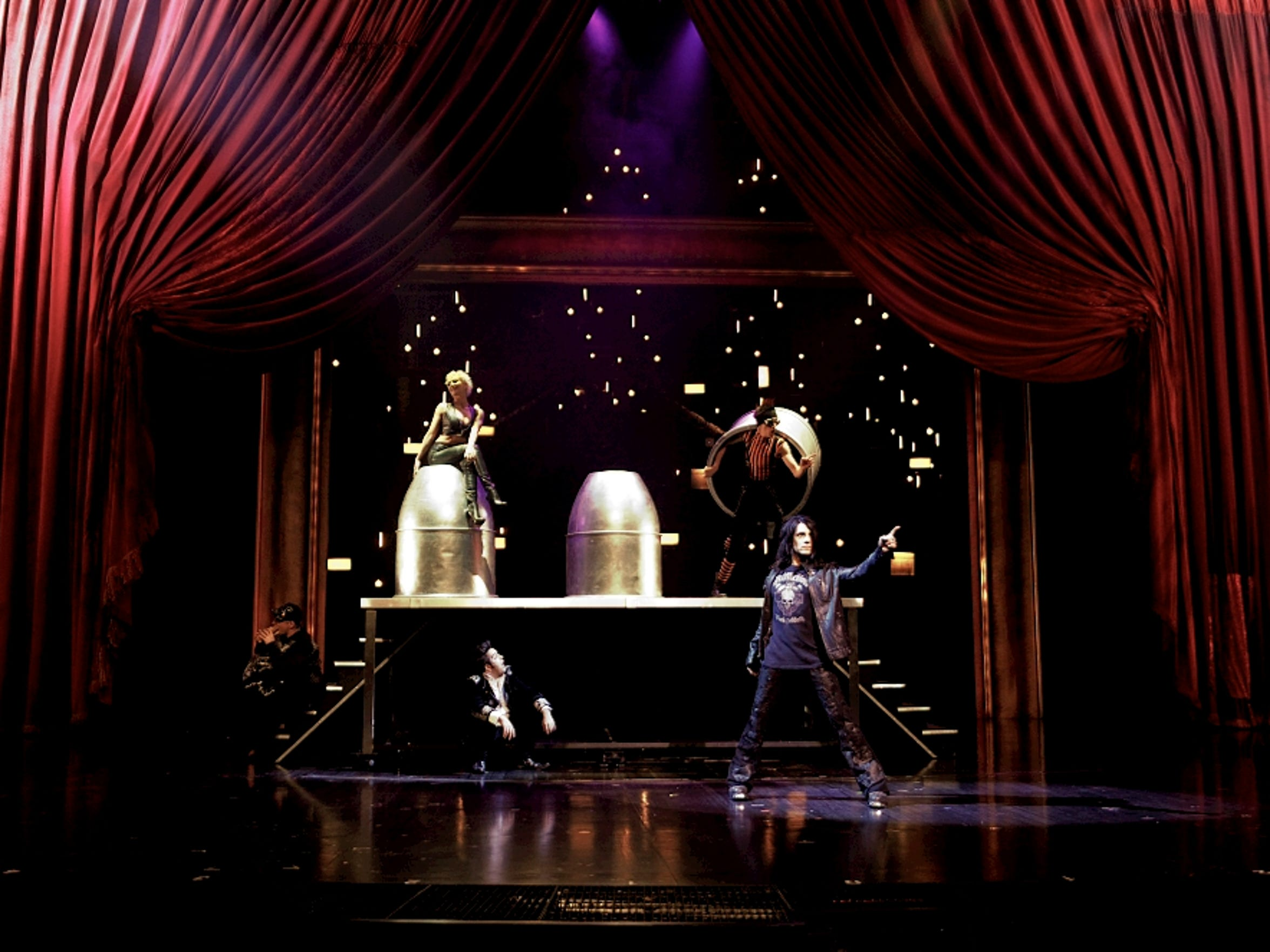 Illusionist Criss Angel stars in Believe at Luxor.