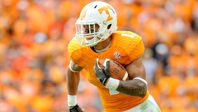 Tennessee Coach Butch Jones said former Beech running back Jalen Hurd is the best running back in the nation and could end up in the Heisman Trophy race.